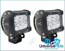 MAX 18 Watt CREE LED Spotlights Spot Light Ideal 4 Mitsubishi Pajero Triton