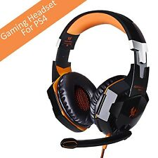 [Latest Version Gaming Headset For PS4] VersionTech KOTION EACH G2000 USB 3.5...