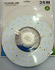 CIRCOLINA LED SMD 5730 PLAFONIERA DISCO CIRCOLINA NEON CIRCOLARE 36W 220V 6000K