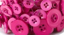 6 foot Asst Button Garland Add Country Charm to Your Bouquet Strong Pink   B91
