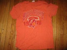 Super Soft Orange TAMPA BAY BUCCANEERS Old Logo T Shirt Large By Junk Food