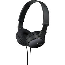 Sony MDR-ZX110 Black Powerful Comfortable Foldable Over Ear Headphones/Earphones