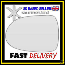 Left Passenger Wing Car Mirror Glass Replacement CONVEX Honda Jazz 2001-2005