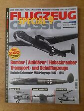 Flugzeug Classic Special no. 9 with over 240 Colour drawings and Photos