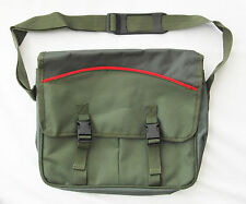 UK Angling Supplies Game Classic Style Game Bag 2-Tone Green with Red Trim Size