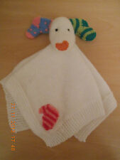 THE SNOWDOG  COMFORTER  KNITTING PATTERN  CHILD OR BABY DK YARN CHRISTMAS (3)
