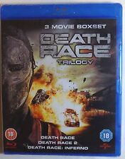 DEATH RACE TRILOGY Brand New 3 MOVIE BLU-RAY SET Inferno 1 2 3 Ships From USA