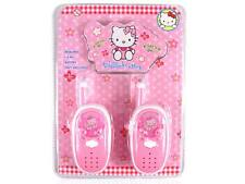 WALKIE TALKIE PINK KITTY  PRINCESS GIRLS KIDS RADIO PHONE TOY  MOVIE