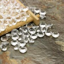500 Clear Acrylic Diamond Confetti 8mm for Wedding Decoration Table Scatters new