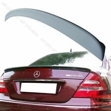 Benz Mercedes W211 A Style ABS Trunk Spoiler & Free Side Cover §