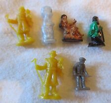 1960 Gumball Machine Toy Plastic miniature people 6 pcs Shepard Farmers