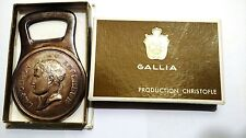 Vintage Christofle Gallia Bottle Opener Empereur Napoleon