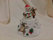 CHARMING TAILS Snow Angels Maxine Music Box 93/480 WORKS  DEAN GRIFF(1147)