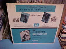 RCA RECORDS INNER SLEEVE ONLY NO RECORD 12 IN. HARRY BELAFONTE MOOD ALBUMS SONGS