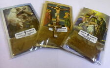Lot Of  3 Olive Wood Cross & Christian Picture & Holy Earth From Bethlehem