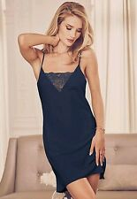 MARKS AND SPENCER ROSIE FOR AUTOGRAPH  NAVY LACE LOUNGER SLIP  SZ 18  BNWT
