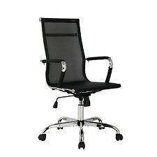 Modern Ergonomic Mesh High Back Executive Office Task Computer Desk Chair Black
