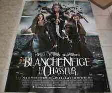 AFFICHE CINEMA 120x160 2012 BLANCHE NEIGE ET LE CHASSEUR Stewart C Theron NEUVE