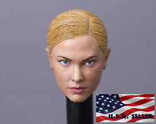 IN STOCK 1/6 Kristanna Loken Head Sculpt Terminator 3 T-X For Hot Toys Phicen