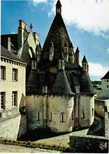 1980s France Postcard - Abbey of Fontevraud (Abbaye de Fontevraud)