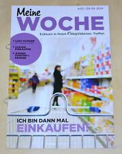 Weight Watchers Meine Woche 3.8 - 9.8 ProPoints™ Plan 2014 Wochenbroschüre *NEU*