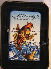 NICE NWLITE  ED HARDY DESIGN FISH LIGHTER BY CHRISTIAN AUDIGIER