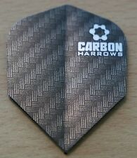 "10 Sets (10X3) Harrows ""Black Carbon"" Dart Flights."