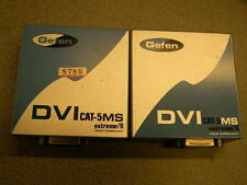 Gefen DVI CAT-5 MS Extreme Extender Extends DVI 300 feet over CAT-5 cable NO PS