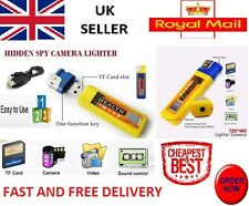 SPY CAM LIGHTER + 8GB MICRO SD CARD! MINI DVR SPY CAMERA HIDDEN*HD* Cheapest