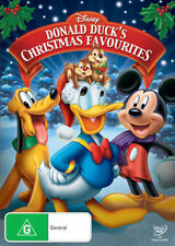 DONALD DUCK'S Christmas Favourites DVD CHRISTMAS MOVIES WALT DISNEY BRAND NEW R4