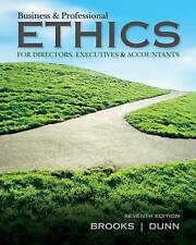 Business & Professional Ethics by Paul Dunn, Leonard J. Brooks (Paperback, 2014)