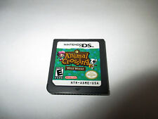 Animal Crossing Wild World (Nintendo DS) Lite DSi XL 3DS 2DS Game