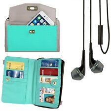 Lady Cellphone Wallet Clutch Wristlet For iPhone 6 Plus/LG Nexus 5/LG Fx0+Earbud