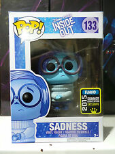 Funko POP! Disney Pixar 133 - Inside Out - Sadness 2015 Summer Convention Excl.