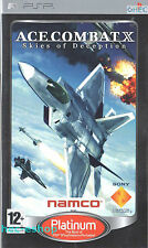 Ace Combat X: Skies of Deception Sony PSP 12+ Shooter Flight Sim Game