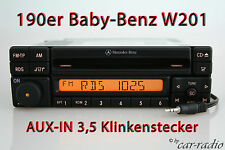 Mercedes Original Autoradio W201 C-Klasse Special MF2297 CD-R AUX-IN MP3 Klinke
