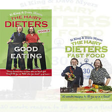 Hairy Bikers Collection 2 Books Set Hairy Dieters Fast Food & Good Eating , New