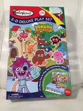 BRAND NEW COLORFORMS MOSHI MONSTERS 3-D DELUXE PLAYSET