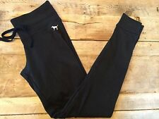 Black/White Dog ~SMALL~PINK! Victoria Secret CAMPUS LEGGING Lounge Sweats VS