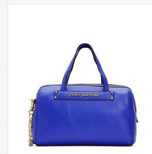NWT Juicy Couture Robertson Leather Small Steffy Bag Blue Orig $228