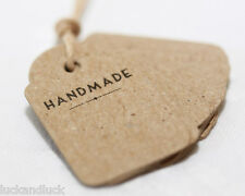 East of India Mini Vintage Shop Labels - Handmade / Great for Wedding Favours!