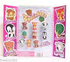 """NEW 1"""" Animal Squisheez Squishy Squishies Set Lot Vending Display Party Favors"""