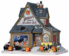 Lemax 15193 GRIMSLEY'S HOUSE OF HALLOWEEN DECOR Spooky Town Lighted Building I