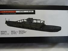 Artitec 80029 Flat Pontoon with 8.8 Flak Gun Kit Resin & Metal Parts 1:87 Scale