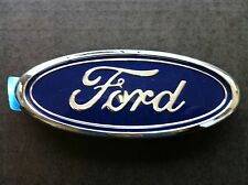 81-86 FORD F100 PARTS FORD BLUE OVAL BADGE NEW GENUINE FORD IN GRILLE GRILL