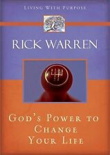 God's Power to Change Your Life (Living with Purpose), Rick Warren, Good Book
