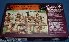 CAESAR #F110 UNDEAD CAMP - ZOMBIES - 1:72 SCALE UNPAINTED FIGURES - 11 POSES.