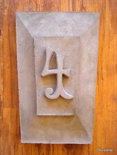 Bloccato -facciata ,grande Pietra media con hstampanummer- Stucco per facciate