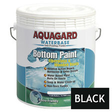 Aquagard Waterbase BOAT MARINE ANTI FOULING BOTTOM PAINT 1 GALLON Black