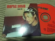 MARTA BOTIA CON BUNBURY CD SINGLE PROMOCIONAL DICES NO CHRYSALIS 2002